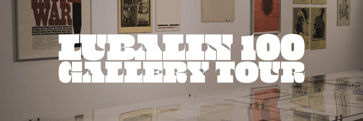 Curator's Tour: Lubalin 100 with Alexander Tochilovsky