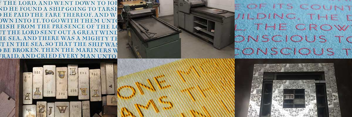 Studio Tour: Russell Maret's Typographic Laboratory with Russel Maret